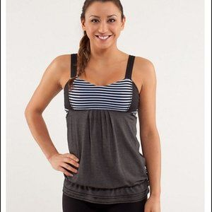 Lululemon Run: Back On Track Tank Cinchable